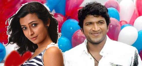 Puneet Rajkumar and radhika pandit cute hot still