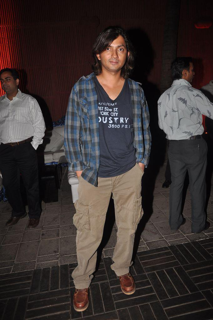 Shirish Kunder at Dirty Pictures Sucess Party