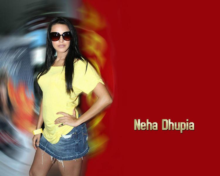 Neha Dhupia glamour stills