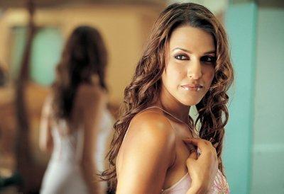 Neha Dhupia hot pose in tight dress