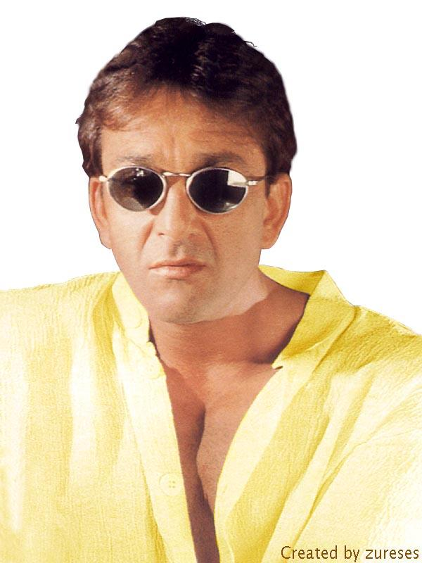 Sanjay Dutt hot pose wearing goggles