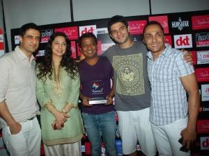 Rahul Bose with Winners of Kashish