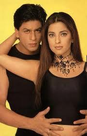 Juhi Chawla and Shahrukh hot stills