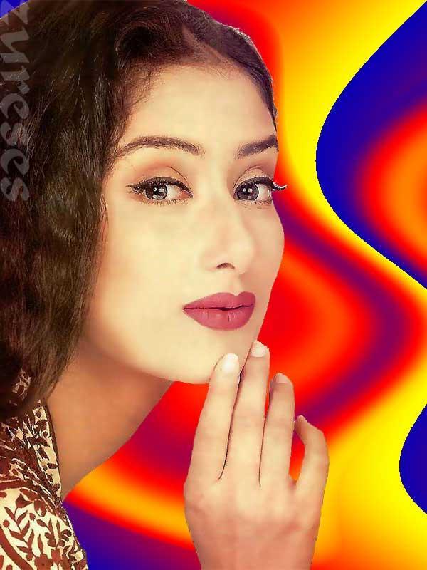 Manisha Koirala red lips hot still