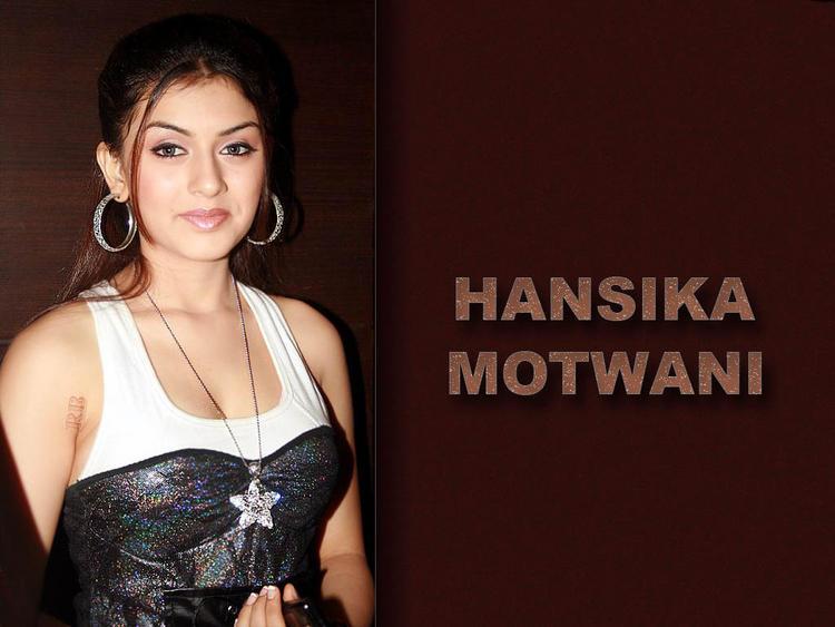 Beautiful Hansika Motwani wallpaper