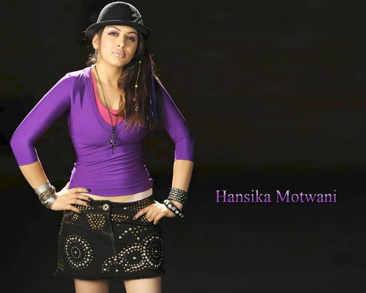 Hansika Motwani sexy wallpaper