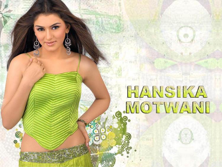 Spicy Hansika Motwani wallpaper