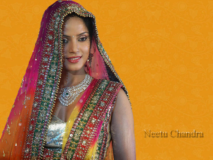 Neetu Chandra wedding dress wallpaper