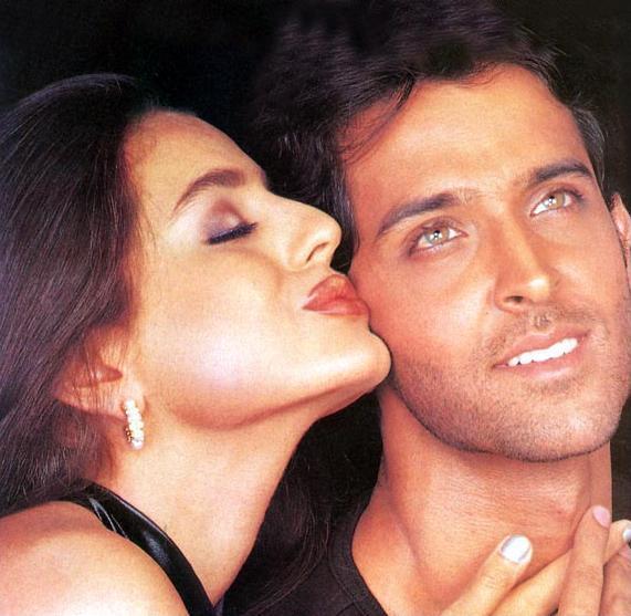 Hrithik Roshan and Amisha Patel in Kaho Naa Pyaar Hai