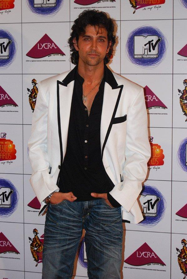 Hrithik Roshan looking very handsome