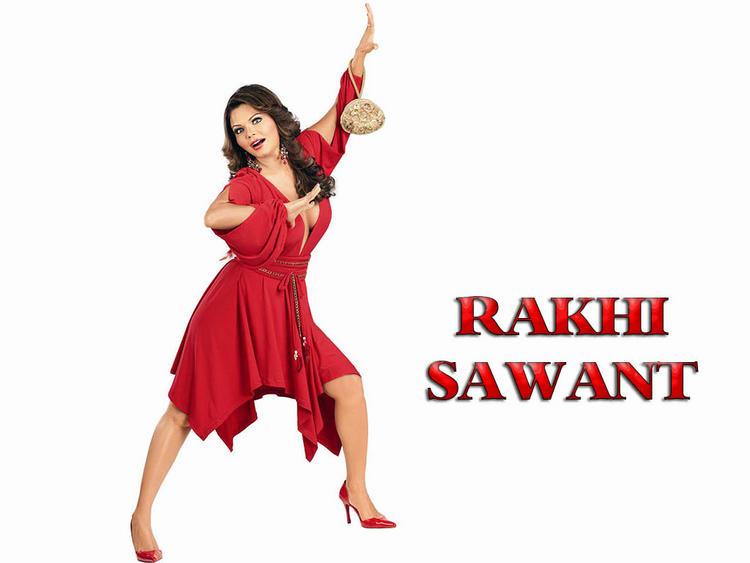 Rakhi Sawant  red hot wallpaper