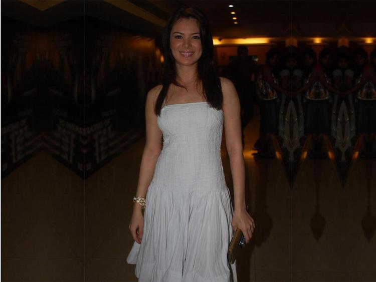 Urvashi Sharma sleeveless dress stills