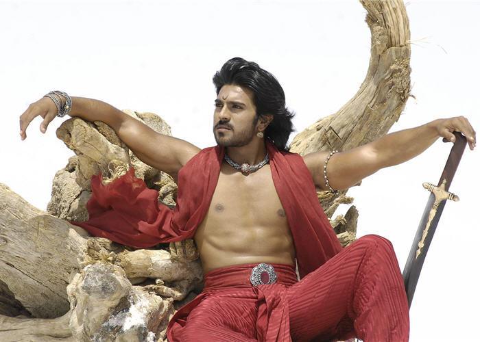 Ram charan teja cute stills in maaveeran movie