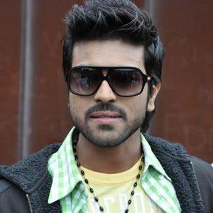 Ram Charan  hot pose wearing goggless