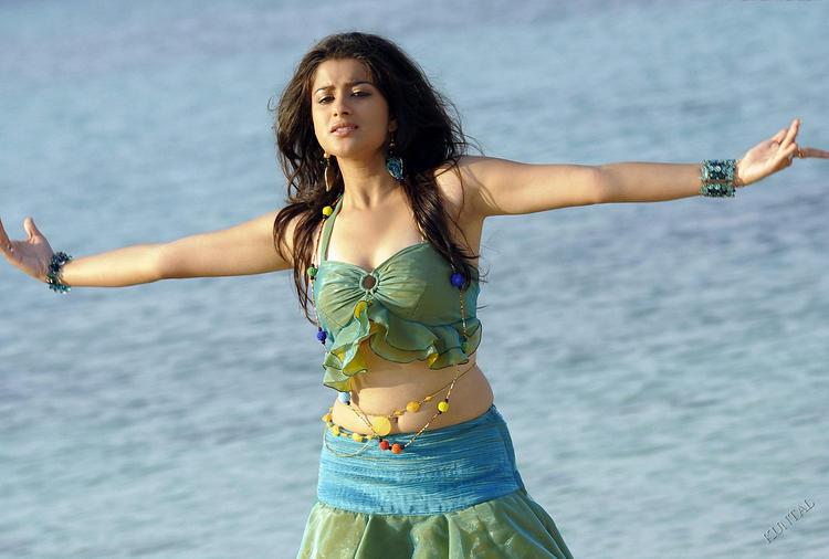 Madhurima hot sexy navel show
