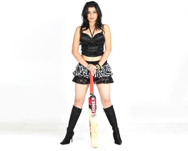 Madhurima Banerjee mini dress sexy wallpaper