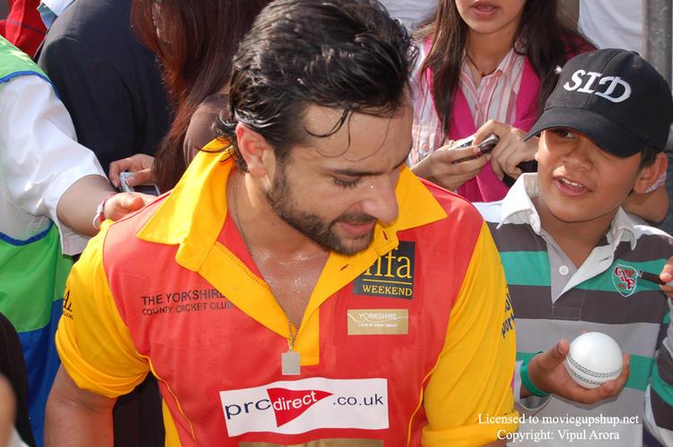 Saif Ali Khan at IIFA Cricket