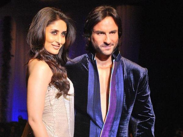 Kareena Kapoor and Saif Ali Khan looking hot and gorgeous