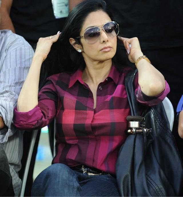Sridevi Kapoor hot look at CCL
