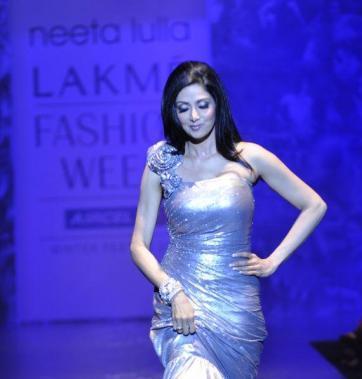 Lakme Fashion Week  Sridevi pictures