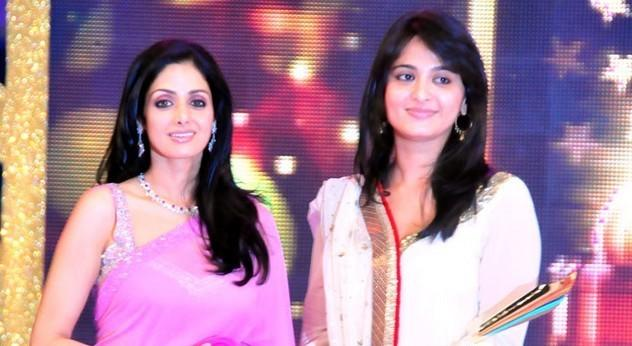 Sridevi and Anushka at South Scope awards