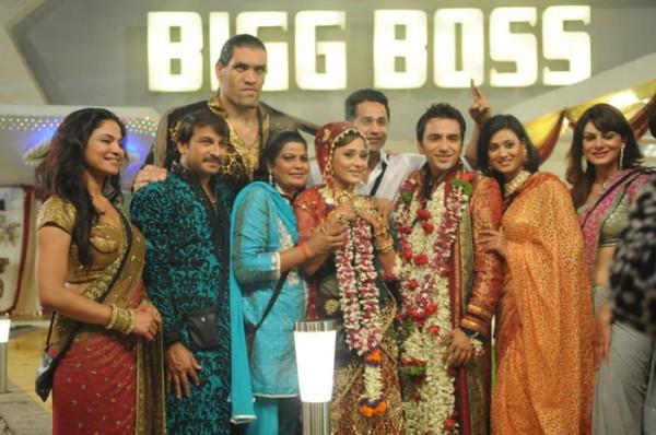 Sara Khan & Ali Merchant wedding pictures with Bigg Boss house mates