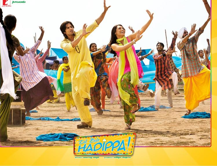 Shahid Kapoor and rani mukherjee does hadippa