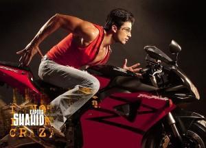 Shahid Kapoor wonderful bike still