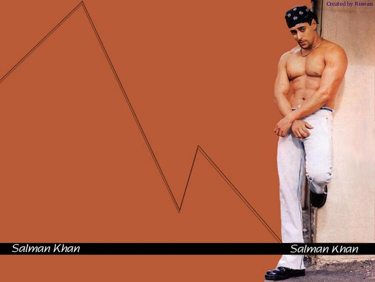 Salman Khan hot body wallpaper