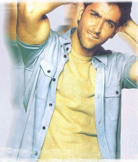 Gazing eyes look of Hrithik Roshan