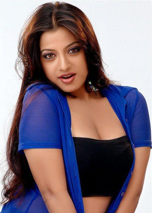 Keerthi Chawla sexy boob hot still