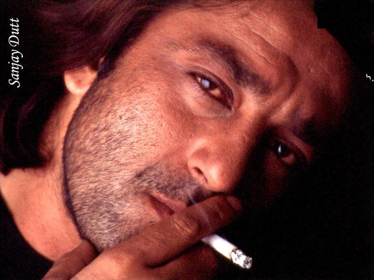 Sanjay Dutt with cigarette