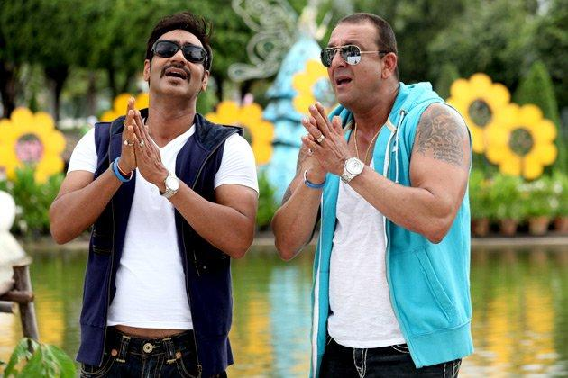 Ajay Devgan & Sanjay Dutt welcome pics of Rascals movie