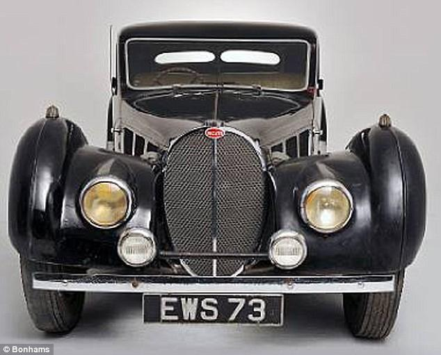 No. 2 - 1931 Bugatti Royale Kellner Coupe - $9.7 million