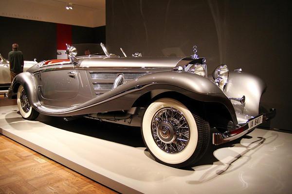 No. 4 - 1937 Mercedes-Benz 540K Special Roadster - $8.2 million