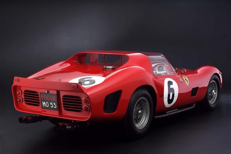 No. 3 - 1962 Ferrari 330 TRI/LM Testa Rossa - $9.2 million