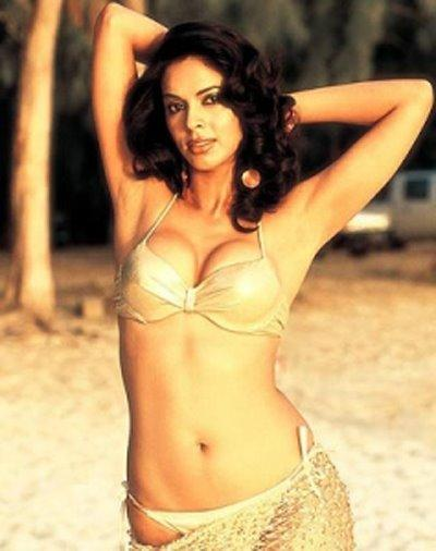 Mallika Sherawat Wet Outfit Still In Bikini