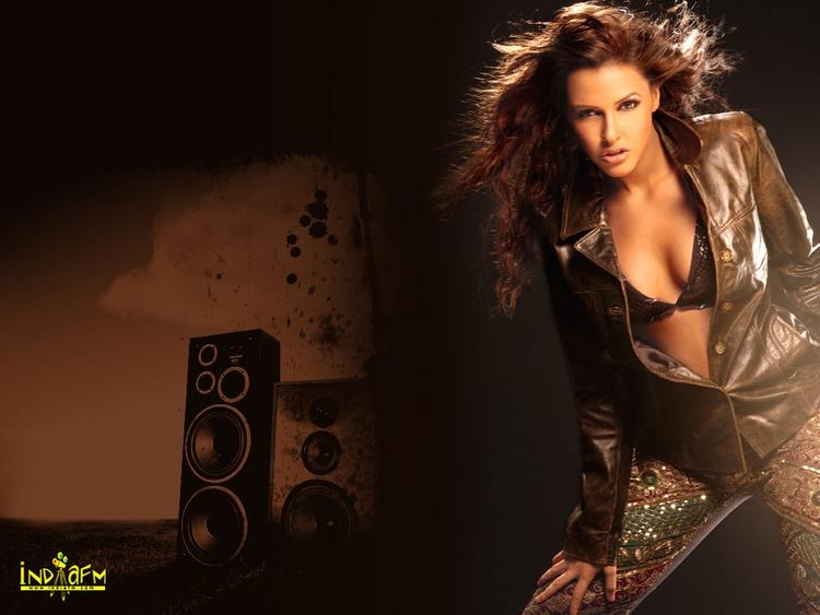 Neha Dhupia Hottest Wallpaper