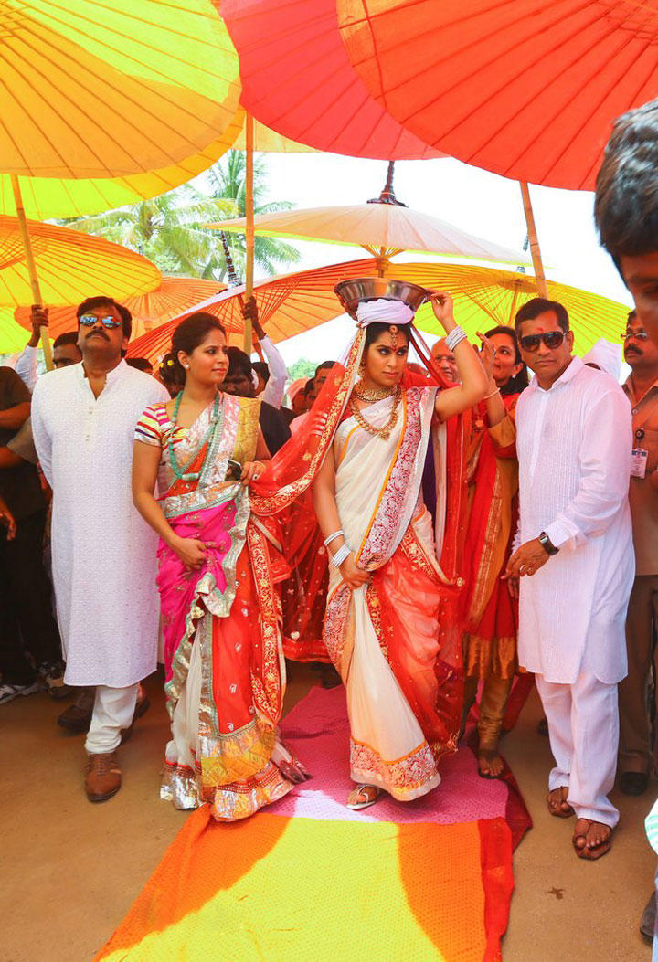 Ram Charan Teja and Upasana Kamineni Wedding at Domakonda Fort