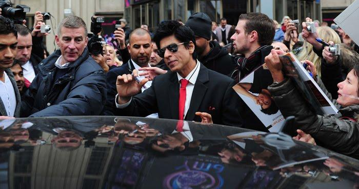 Shahrukh Khan In Berlin For Don 2
