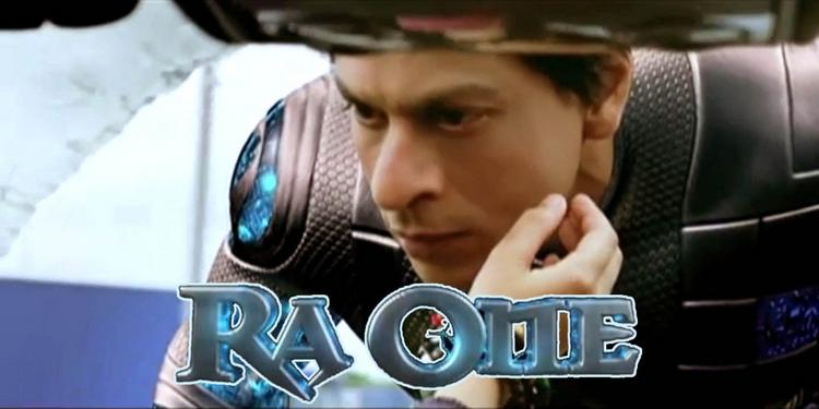 Shahrukh Khan In Ra One