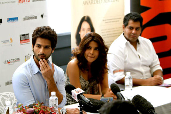 Shahid and Priyanka Launch Indian Film Festival Melbourne 2012