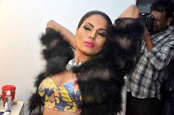 Veena Malik Latest Senseous Pose Photo Shoot