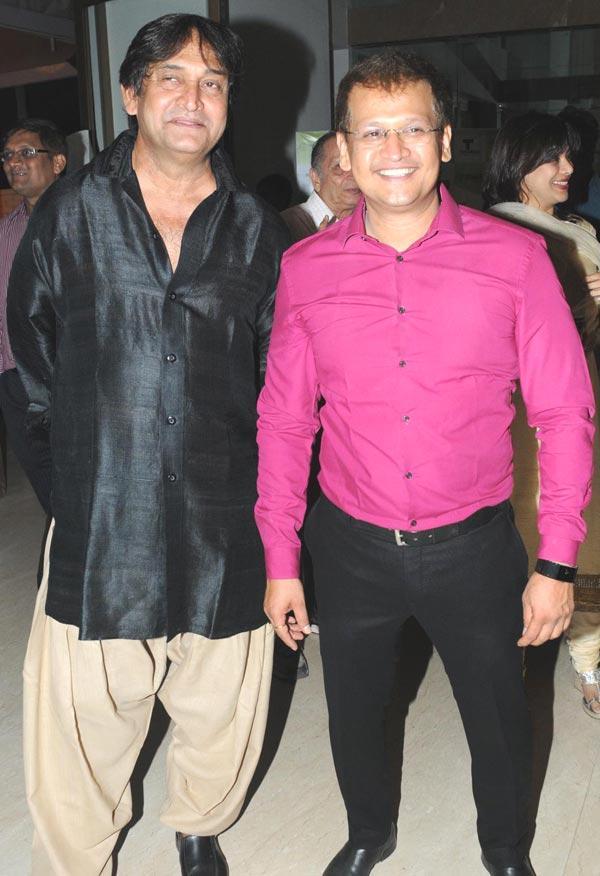 Mahesh and Prashant at The Launch Of Zumba Fitness Event