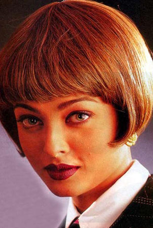 Aishwarya Rai Bob Cut Hair Style Pic
