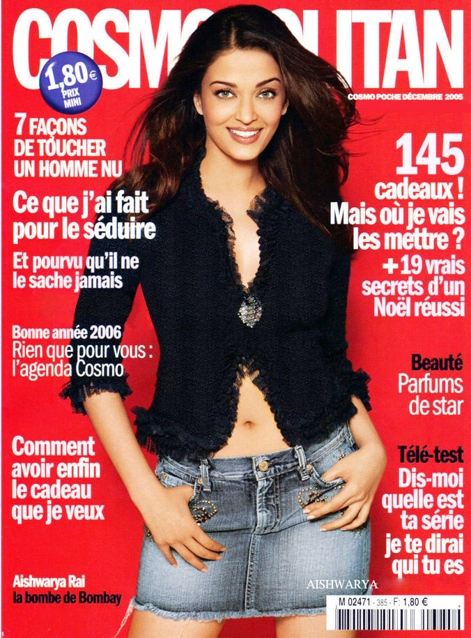Aishwarya Rai Cosmopolitan Magazine Sweet Sexy Pic