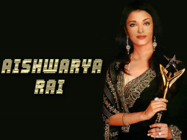 Aishwarya Rai Latest Wallpaper With Award