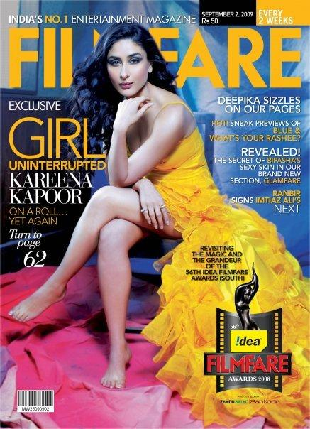 Kareena Kapoor Filmfare Magazine Hot Pic