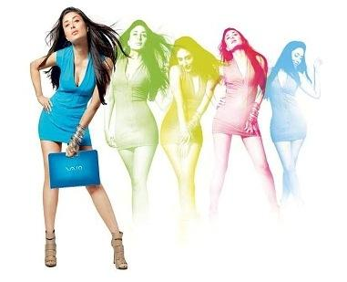 Kareena Kapoor Sony Vaio Laptop Brand Sexy Photoshoot