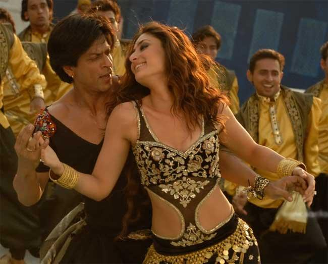 Srk and Bebo Marjani Dance Pic In